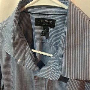 Banana republic men's button down dress shirt